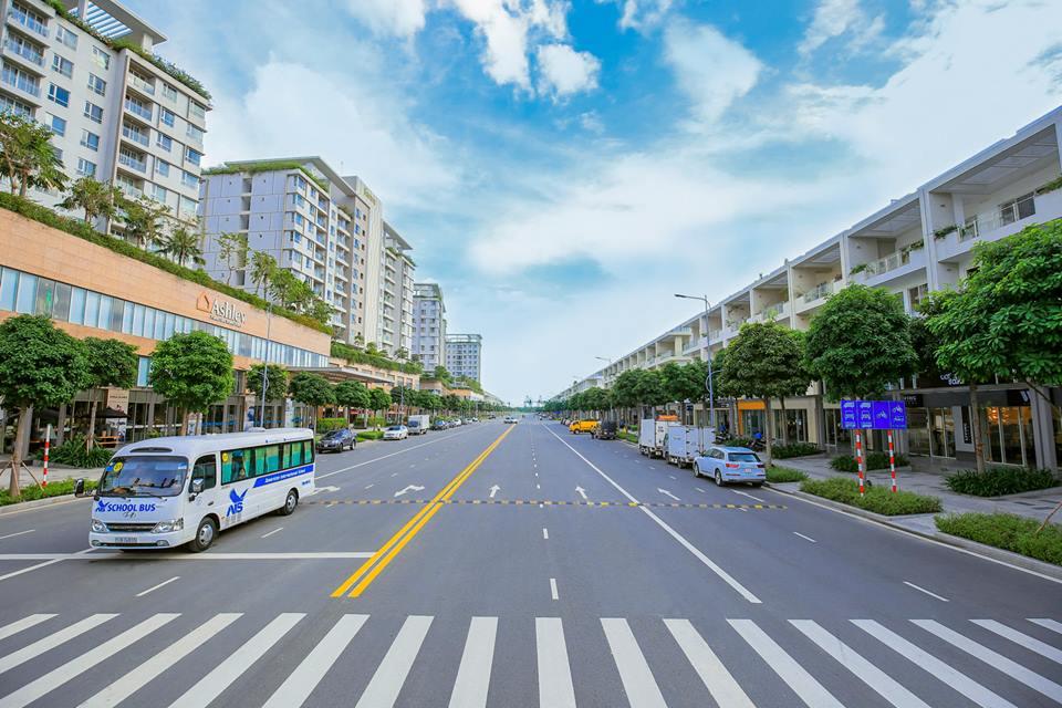 Tuyến phố Nguyễn Cơ Thạch khu đô thị Sala