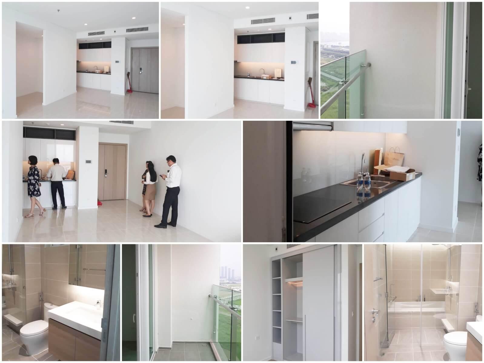 Hình ảnh nghiệm thu bàn giao căn hộ Sadora, khu đô thị Sala