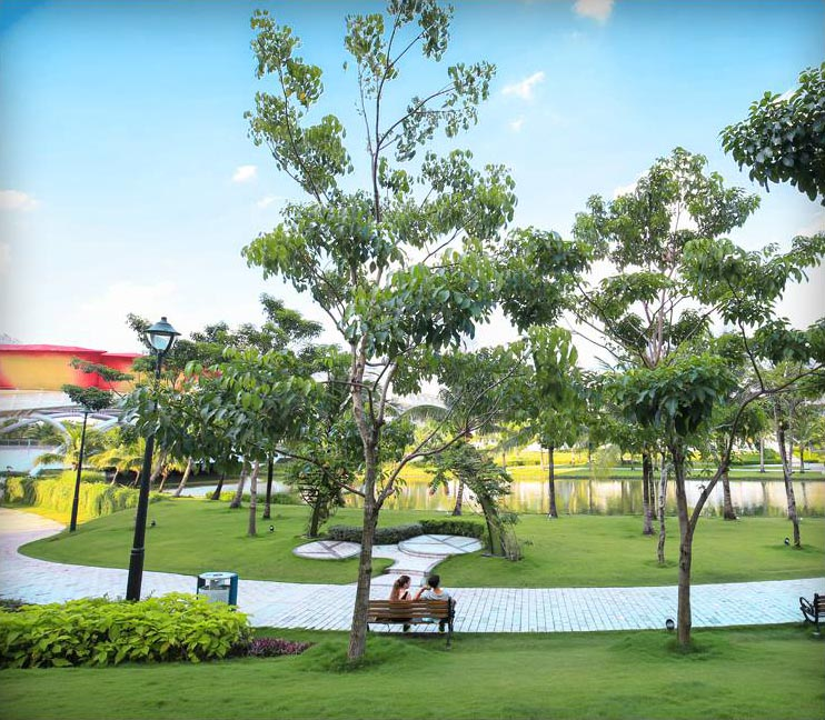 """Một trong những """"lá phổi xanh"""" của thành phố, góp phần cải thiện mảng xanh cần thiết vào môi trường sống của người dân."""