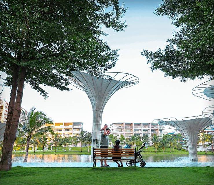 Mặc dù rất gần trung tâm thành phố nhưng công viên Sala vẫn hoàn toàn tách biệt và vô cùng yên tĩnh.