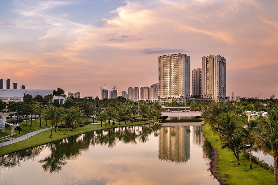 Khu căn hộ Sadora, dự án Đại Quang Minh, Quận 2