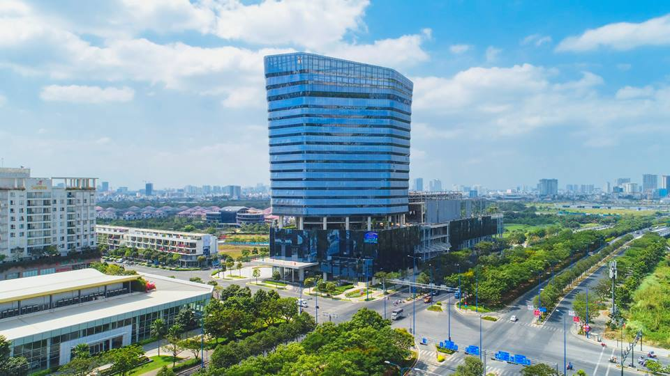 Toà cao ốc văn phòng - thương mại - dịch vụ Thaco sắp hoàn thành những công đoạn cuối cùng. Sau khi hoàn thành sẽ góp phần nâng tầm chất lượng tiện ích trong khu đô thị Sala và khu đô thị Thủ Thiêm